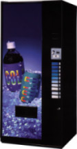 720, pop machine, bottled water